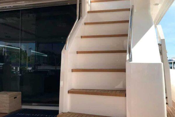 Princess-95-Motor-Yacht-Exterior-Stairs