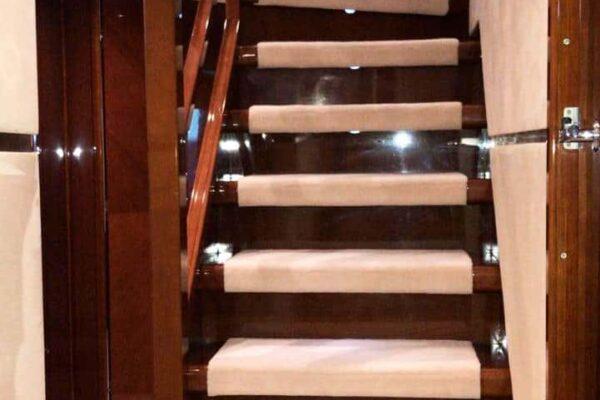 Princess-95-Motor-Yacht-Interior-Details-Stairs-2