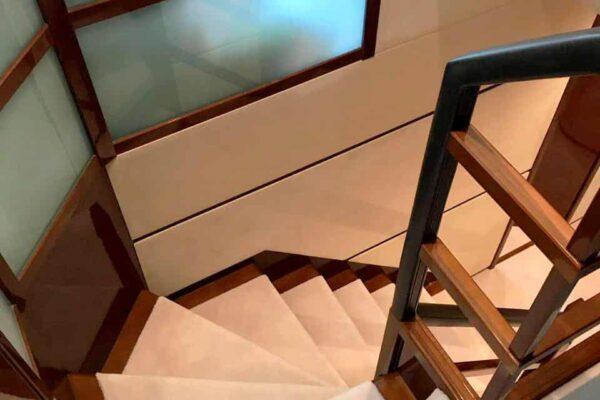 Princess-95-Motor-Yacht-Interior-Stairs