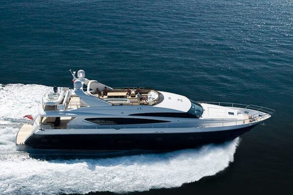 Princess-95-Motor-Yacht-Running