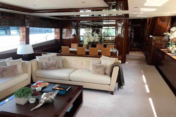 Princess-95-Motor-Yacht-Salon-Aft-View