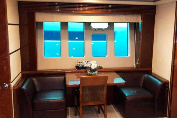 Princess-95-Motor-Yacht-master-cabin-sitting-area