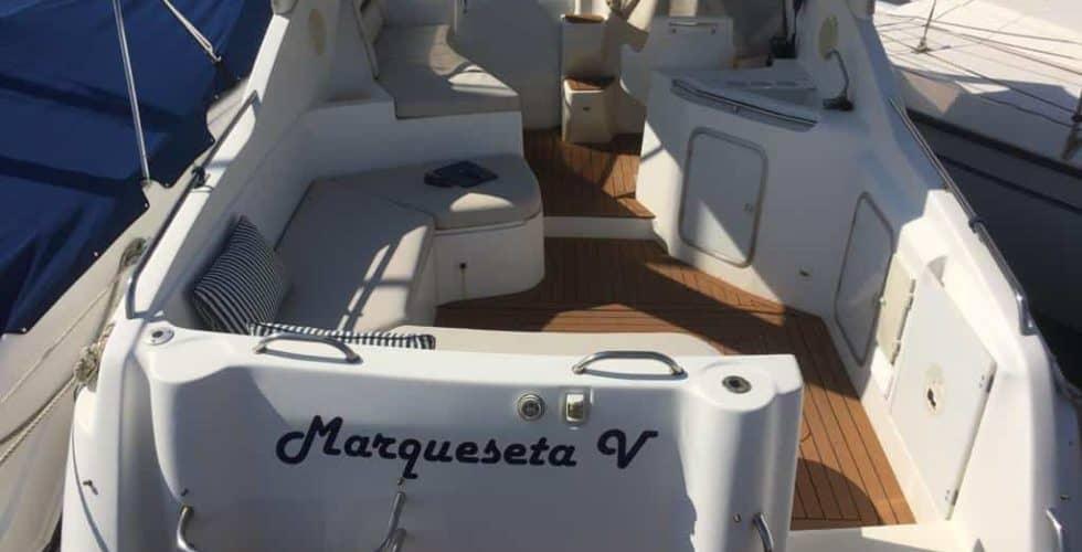 Sessa Oyster 27 Motor Yacht - Exterior Details