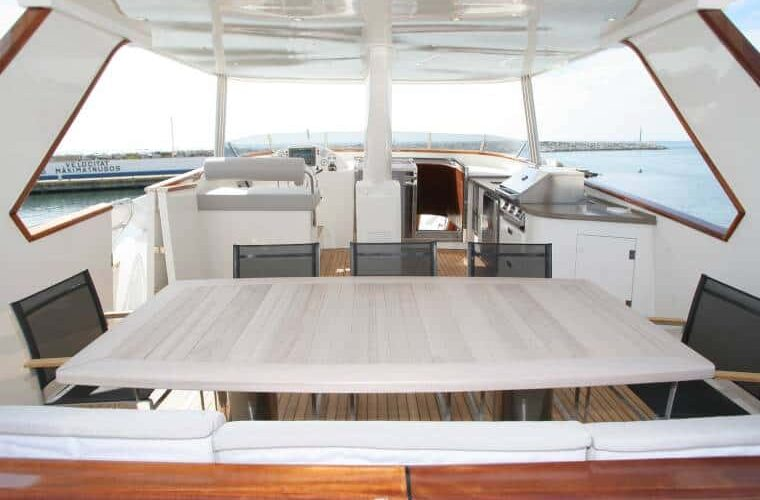 Benetti 26D - Motor Yacht - Exterior - Fly Dining