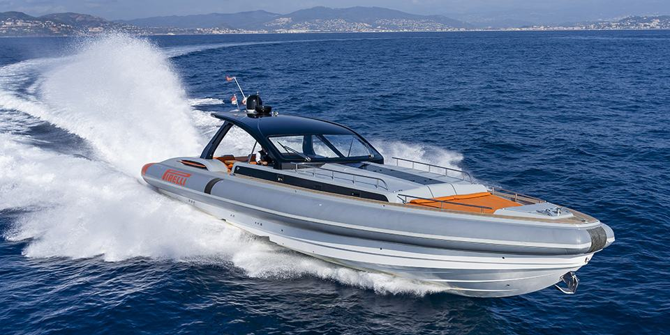 Speedboat - Pirelli 1900
