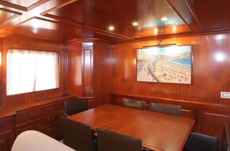 Benetti 26D - Motor Yacht - Interior - Dining