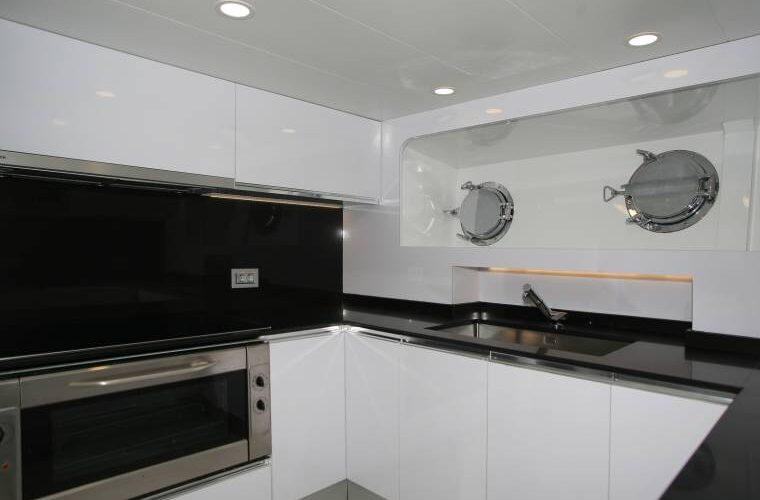 Benetti 26D - Motor Yacht - Interior - Galley