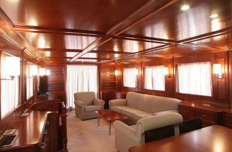 Benetti 26D - Motor Yacht - Interior - Salon - Bow View 2