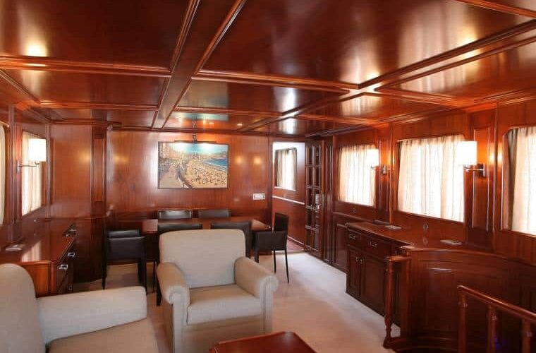 Benetti 26D - Motor Yacht - Interior - Salon - Stairs