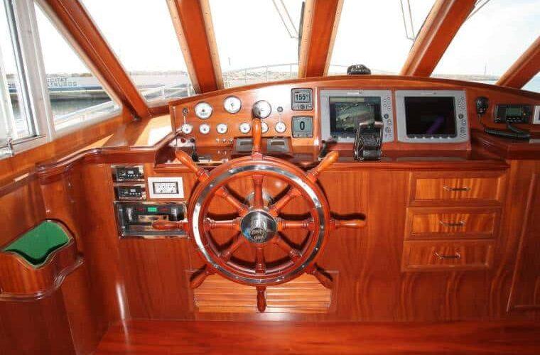 Benetti 26D - Motor Yacht - Interior - Wheelhouse