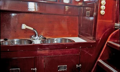 Silver-58-Classic-Motor-Yacht-Interior-Galley-Details